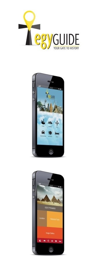 EgyGuide Mobile App by ~Rashidy on deviantART #app #mobile #egyguide