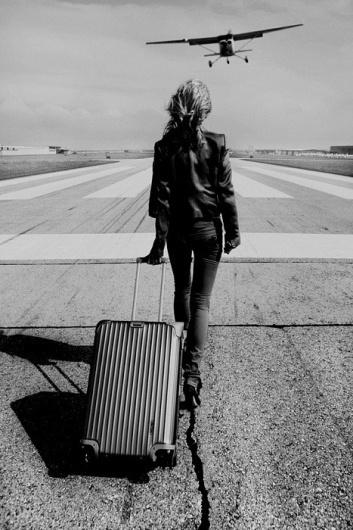 Sara Lindholm #white #airplane #travel #black #and