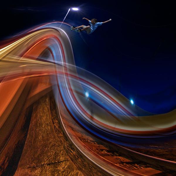 Light Surfer #surfer #light