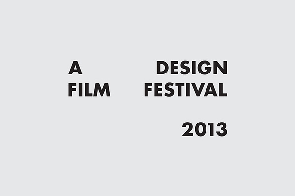 Anonymous — A Design Film Festival 2013 #typography