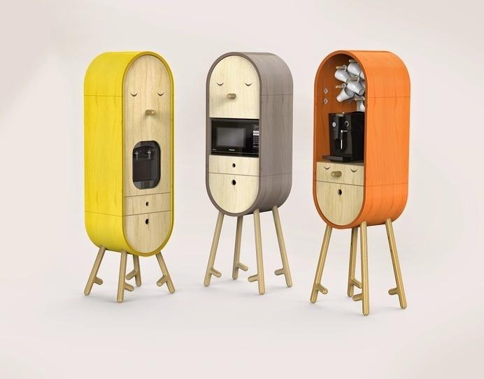 LOLO The Capsular Microkitchen #storage #furniture #design