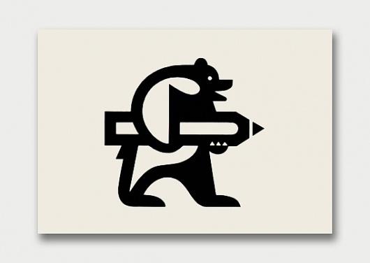 Logo Menagerie – Gebrauchsgraphik 1956–1966 / Aqua-Velvet #illustrated #finland #unsikivalehti #logo #magazine