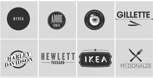 Hipsters logo   feel desain #logos #dave #branding #redesign #design #hipster #spengeler #illustration #logo