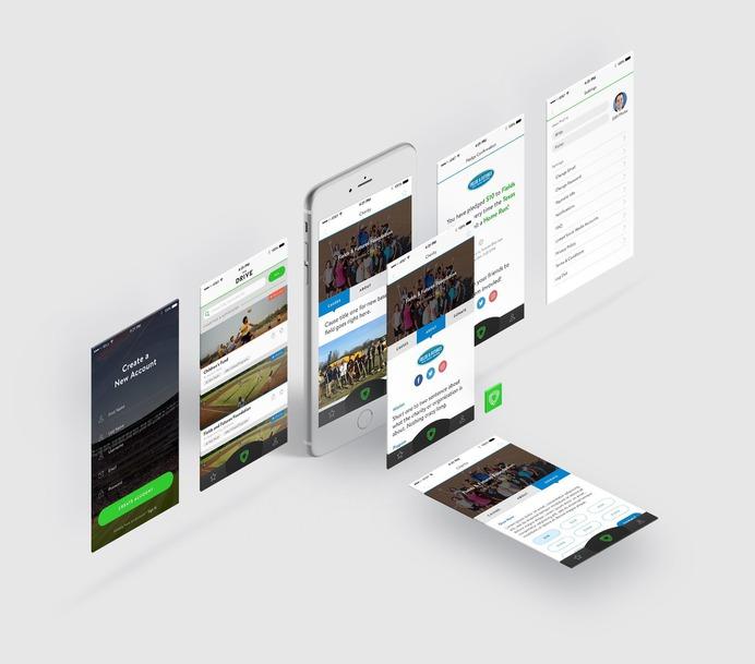 Drive Mobile App Design #mobile #mobileapp #app #design #houston