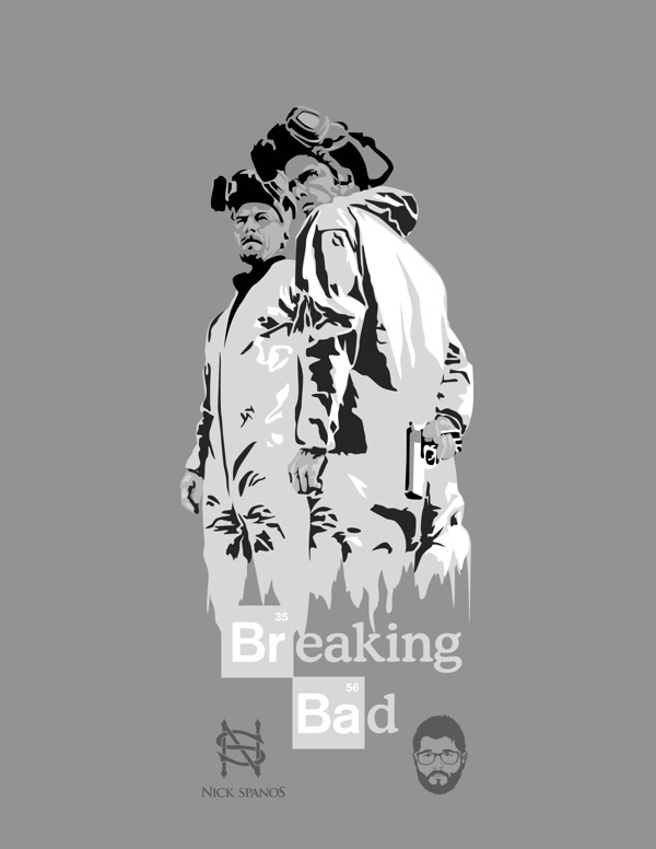 More Breaking Bad Posters #walter #nick #bad #white #breaking #meth #spanos #barrack #posters #obey #science #obama