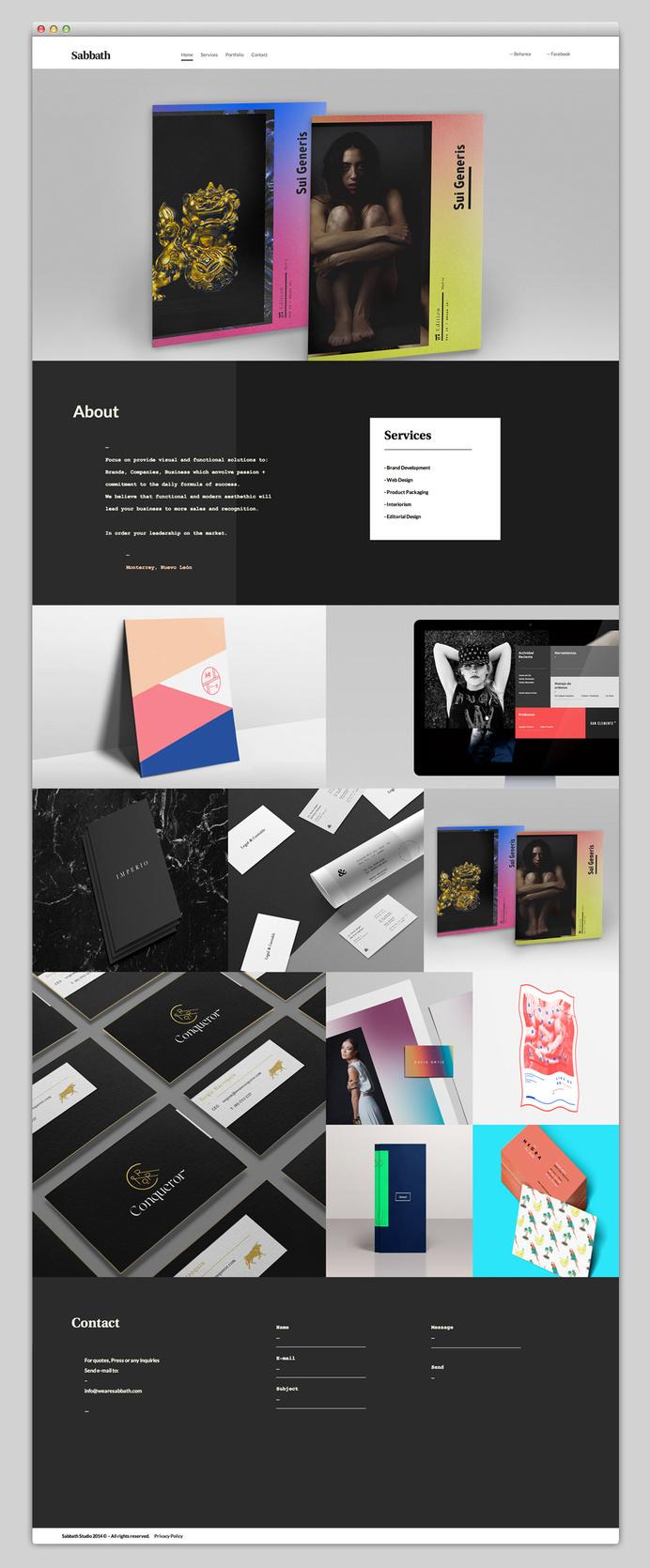 Websites We Love — Showcasing The Best in Web Design #agency #modern #design #best #website #ui #minimal #webdesign #web #typography