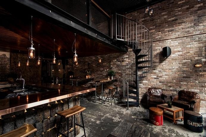 Donny's Bar by Luchetti Krelle - www.homeworlddesign.com (17) #bar #loft design #sydney