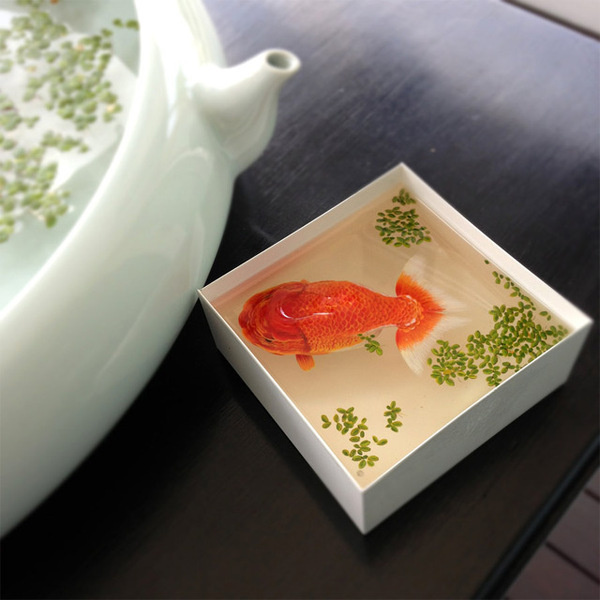 Alive Without Breath: Three Dimensional Animals Painted in Layers of Resin by Keng Lye #sculpture #resin #lye #paint #painting #keng