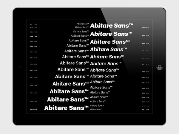 ARTIVA DESIGN-Abitare Sans #ebook #custom #magazine #typography