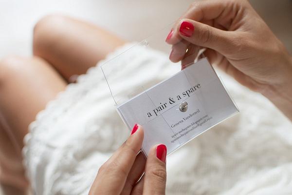 DIY Transparent Business Card Holder #card #business