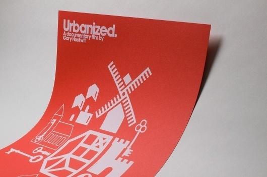 Actu / Quatre affiches pour le documentaire de Gary Hustwit   etapes.com #documentary #hustwit #print #urbanized #gary