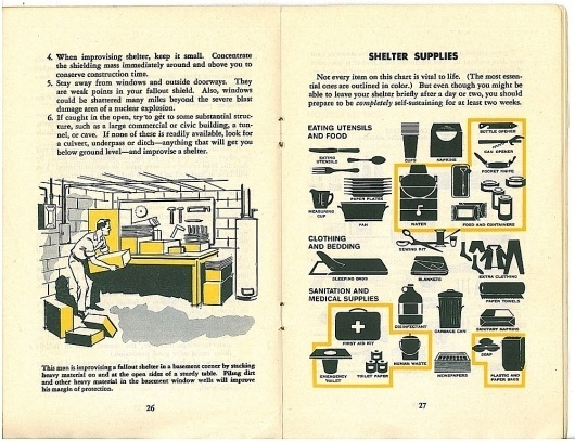 fallout-protection-us-1961-26-27--EAT.jpg 1,000×768 pixels #supplies #shelter #fallout