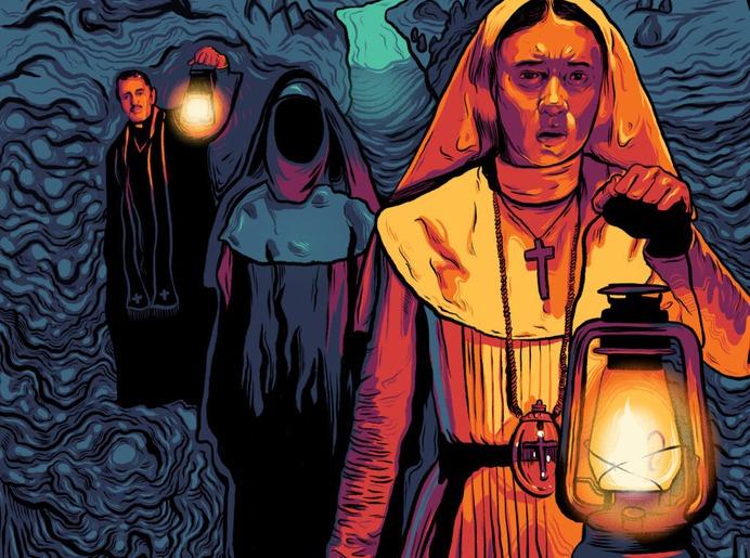 The Nun - Alternate Movie Poster - The Commas