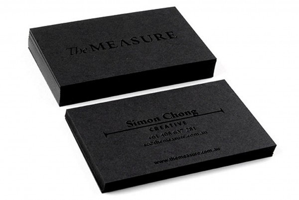 Taylord Press : Taylord Press #business #card #embossed #black #foil