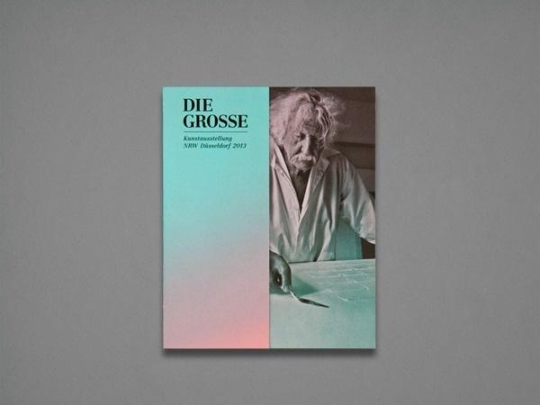 DIE GROSSE Kunstausstellung NRW Exhibition Catalogue on Behance #book