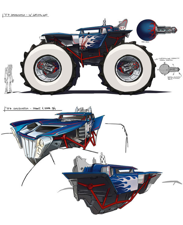 motorcity Brandon 6 #truck #wheels #vehicle #design #illustration #concept #art #car