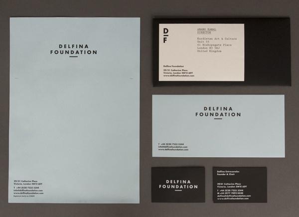 Delfina Foundation designed by Spin #branding