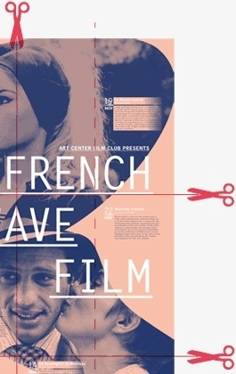 FRENCH NEW WAVE FILM poster on Behance #print #poster #book #film