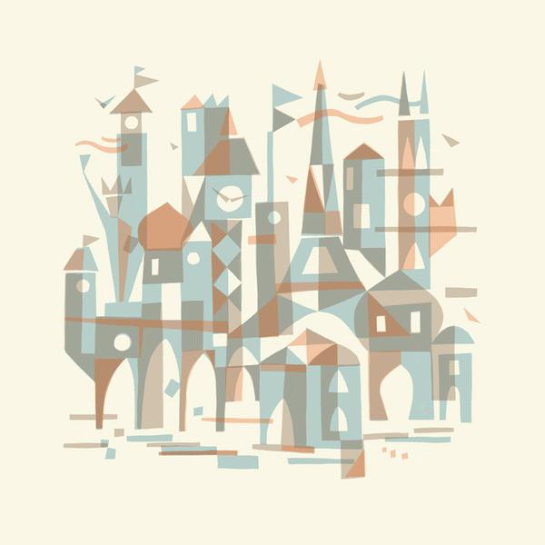 LANDMARKS OF THE WORLD 16 - Chris Turnham #illustration #hand #chris #turnham