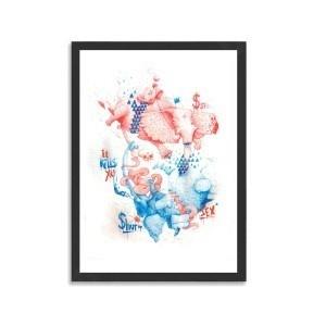 Sex by DULK #print #40x60cm