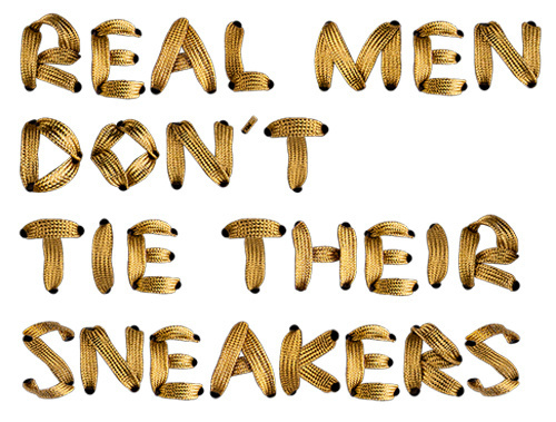 baaam shoelace type #font #baaam #quotes #shoelaces #sneakers #gold #type #typography