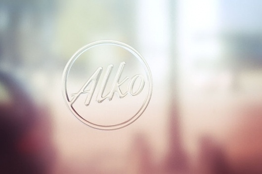 ALKO Flaship Store on the Behance Network #wine #glass #identity #retail #logo