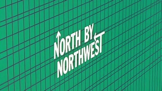 North by Northwest - titles by Saul Bass #bass #title #saul #design #graphic #sequence