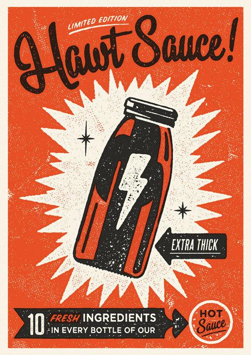 Telegramme_HawtSauce_02 #sauce #illustration #hawt