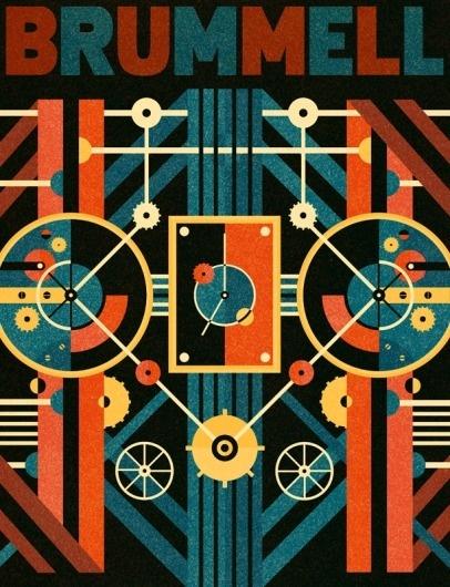 Brummell Thumb - Ben Newman Illustration