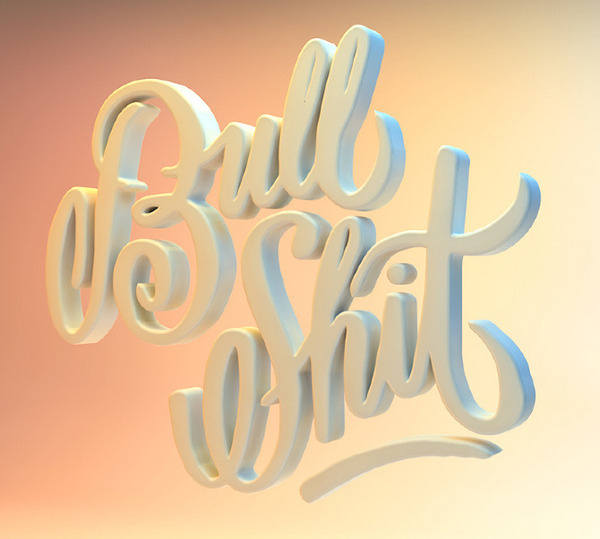 NO MORE... The Pressure #design #graphic #3d #typography