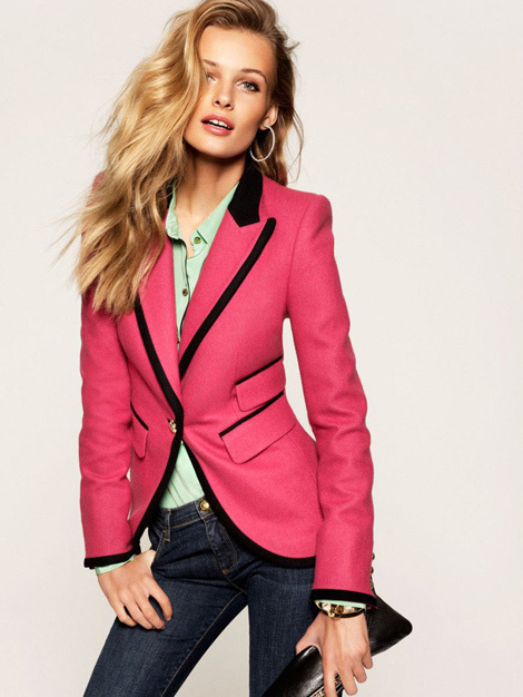Edita Vilkeviciute by Claudia Knoepfel & Stefan Indlekofer for Juicy Couture #model #girl #pink #photography #fashion