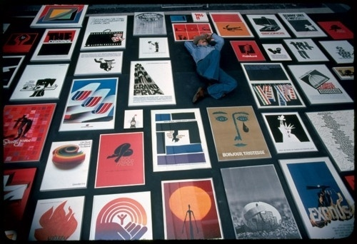 Saul Bass. Before I ever met him, before we worked... - Fast Company #bass #title #icon #saul #design #sequence #posters #film
