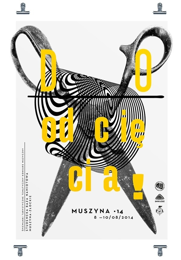 MUSZYNA •14 on Behance #print #design #photography #poster #typography