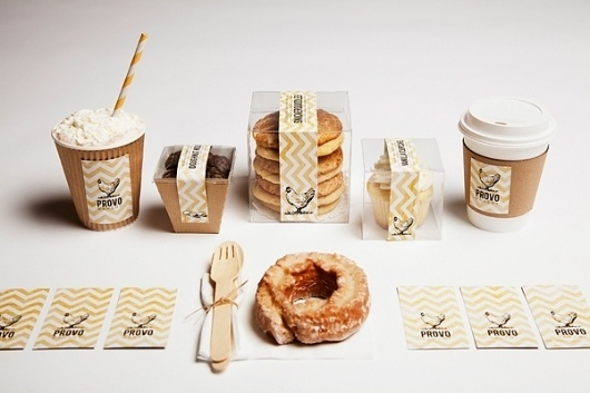 PROVO BAKERY on the Behance Network #business #cards #packaging #branding