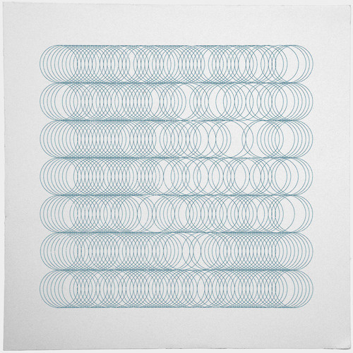 #349 Three hundred and forty nine circles – A new minimal geometric composition each day