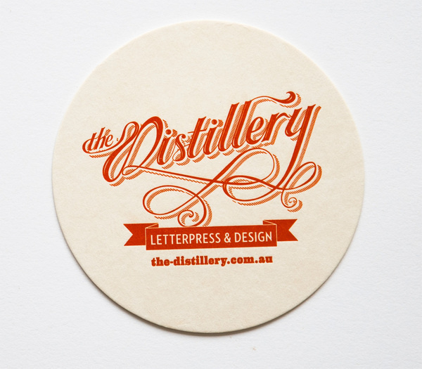 The Distillery Branding on Branding Served #logo #letterpress #typography