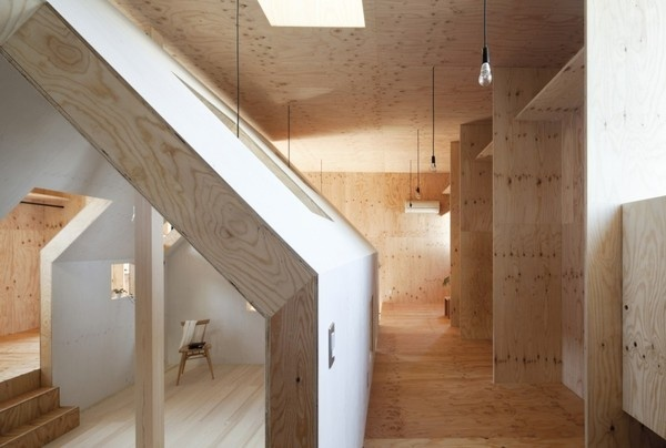 CJWHO ™ (Ant House / MA Style Architects) #design #interiors #wood