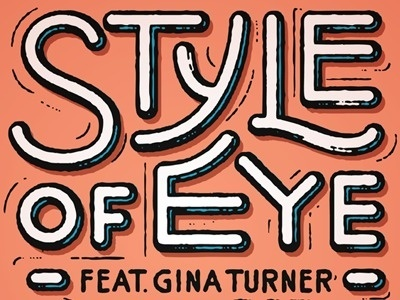 Style of an Eye #custom #awesome #typography