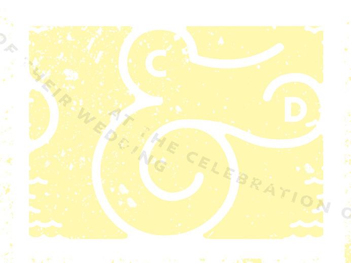 Ampersand, Typography, Wedding