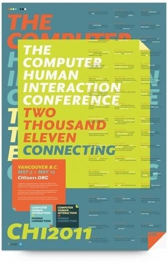 UW Design Show 2011   Ryan Diaz #2011 #design #graphic #chi #identity #poster