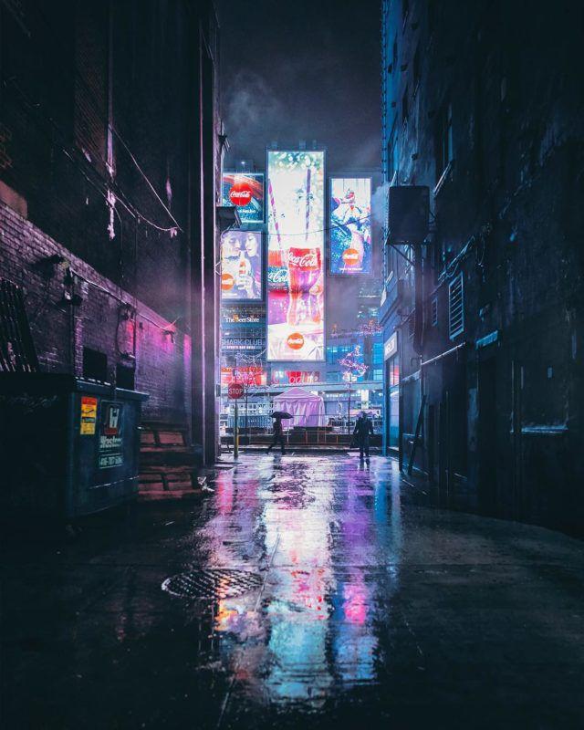 Toronto at night - bora