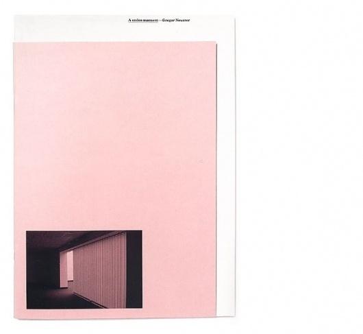 Keller Maurer Design #catalogue #design #minimal