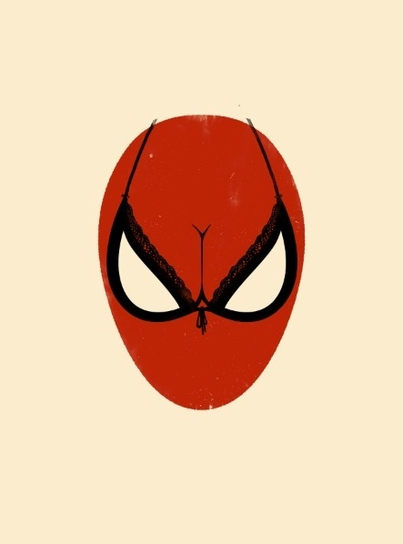 Perspective #illustration #spiderman #clever #spiderboob