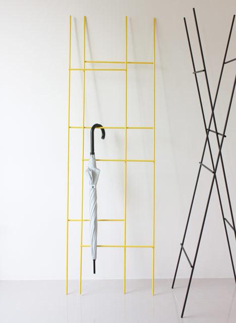 Ladder Coat Rack by Yenwen Tseng #rack #coat