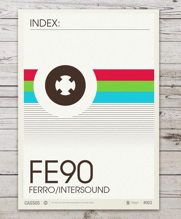 Don't Forget the Cassette #tape #analog #cassette #print #minimal #poster