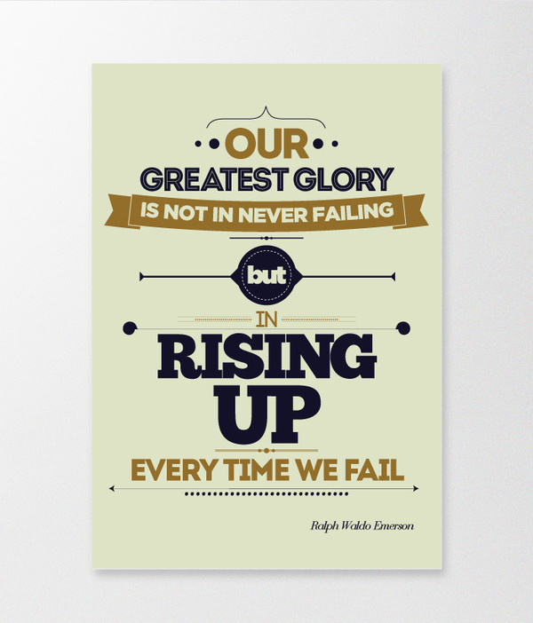 Rising Up #quote #typography