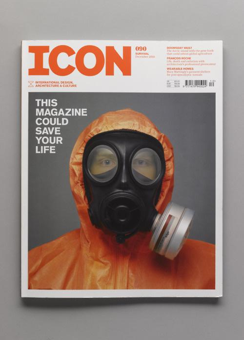 mini mal me:ICONmagazine #print #orange #cover #photography #magazine