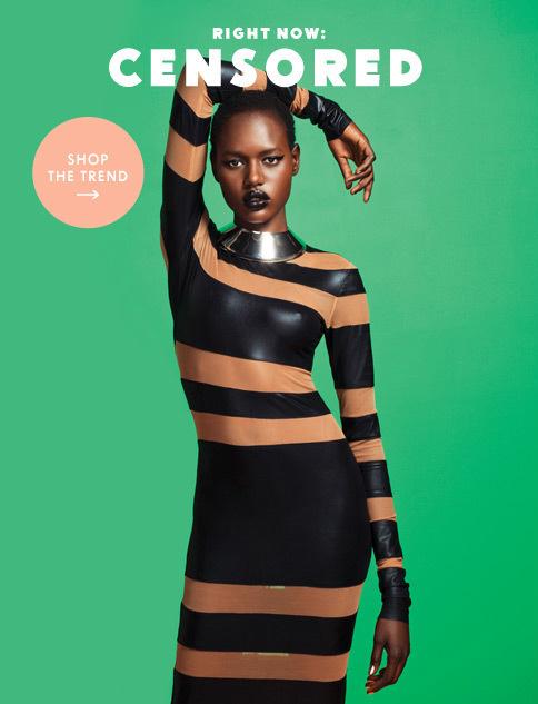 Right Now: Censored #art #direction #girls #magazine