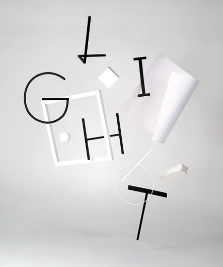 visualism blog #white #visualism #black #handmade #custom #type #light #typography