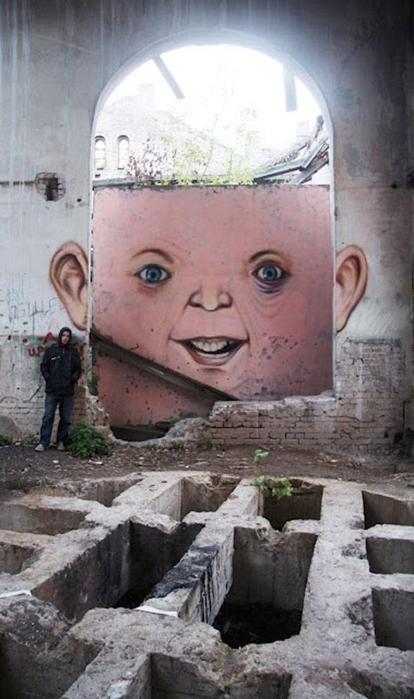 Nikita Nomerzgg 'The Living Wall' #graffiti #nikita #living #nomerzgg #the #wall #art #street